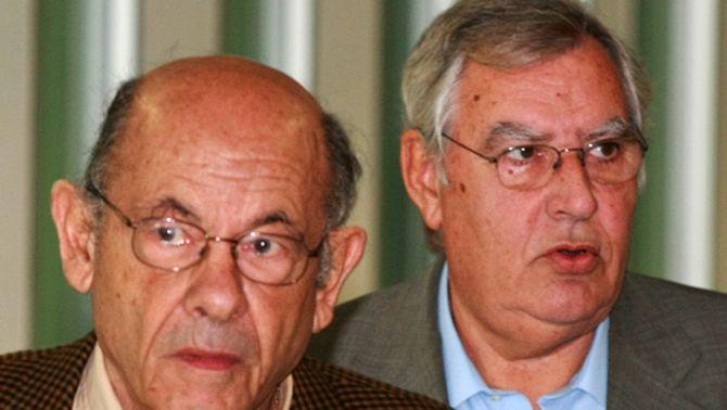 Fèlix Millet i Jordi Montull en una foto d'arxiu del 2008.