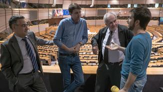 La crisi dels refugiats des dels despatxos de Brussel·les