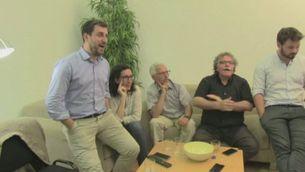 ERC segueix el debat i ho transmeten via streaming i altres seguiments a les xarxes