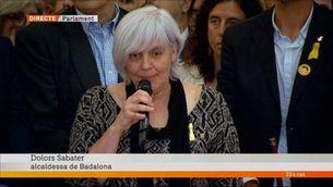 """Dolors Sabater: """"Ens comprometem amb el procés constituent d'una República Catalana"""""""