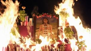 Un autoretrat de Frida Kahlo es crema