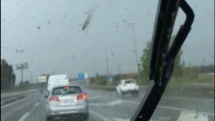 Tornado a la C-32 a Sant Boi de Llobregat