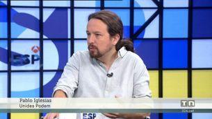 Sánchez diu que dormiria intranquil amb ministres de Podem