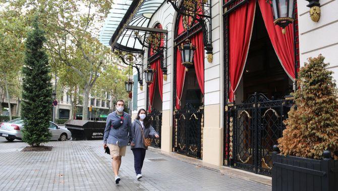"""Situació """"dramàtica"""" dels hotels de Barcelona: no van arribar al 10% d'ocupació a l'agost"""
