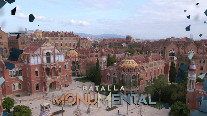 """El Recinte Modernista de Sant Pau guanya la """"Batalla del modernisme"""" i passa a la final del programa"""