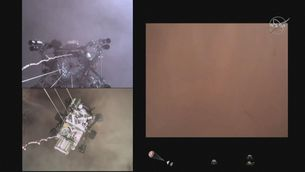 Així va ser l'aterratge del Perseverance a Mart