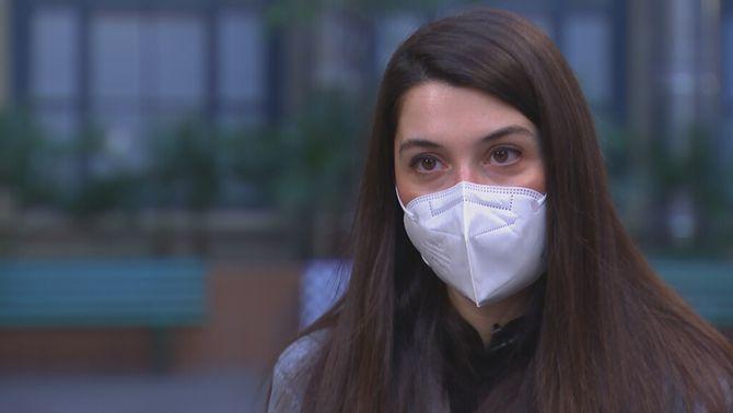 """L'Eleonora, el primer cas de Covid a Catalunya: """"Encara em costa fer vida normal"""""""