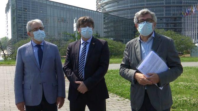 La causa de Turull també arriba a Estrasburg: els drets vulnerats, segons la defensa