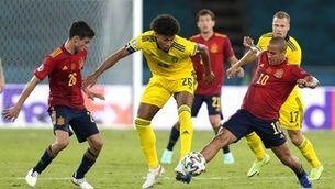 Empat sense gols en l'estrena d'Espanya a l'Eurocopa (0-0)
