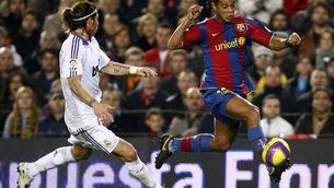 Ronaldinho i Sergio Ramos s'enganxen a les xarxes socials