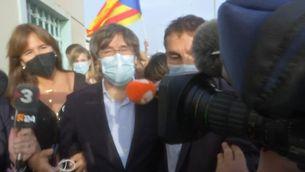 EN DIRECTE | Puigdemont surten llibertat i compareixerà el 4 d'octubre davant el jutge italià