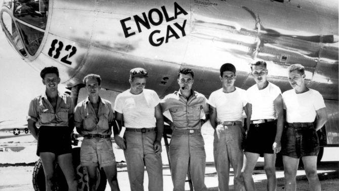 """Mor l'últim tripulant de l'""""Enola Gay"""", l'avió que va llançar la bomba atòmica sobre Hiroshima"""