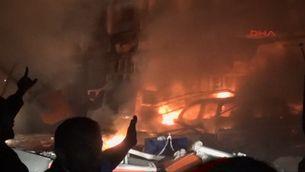 Un mort i 26 ferits en una explosió després de saber-se els resultats de les eleccions turques