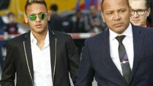 Neymar i el seu pare