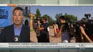 Puigdemont carrega contra el govern espanyol