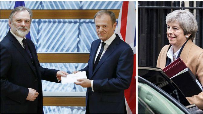 El Brexit, en marxa: la UE rep la carta que l'activa