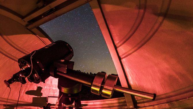 Albanyà estrena un observatori astronòmic amb el telescopi més gran de les comarques gironines