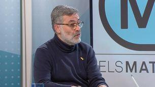 """El diputat de la CUP, Carles Riera, a """"Els matins"""" de TV3"""