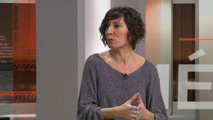 """Simona Levi, durant l'entrevista al programa """"Més 324"""""""