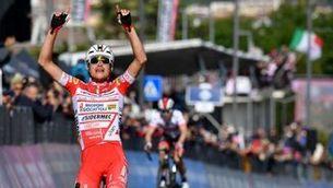 Masnada guanya la sisena etapa del Giro i Conti, líder de la general