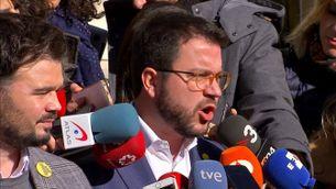 ERC afirma que no hi ha pressa i que l'important és arribar a un bon acord, el dia abans de la segona reunió amb el PSOE