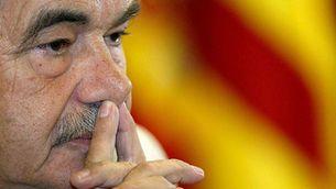 El 127 president de la Generalitat de Catalunya, Pasqual Maragall.