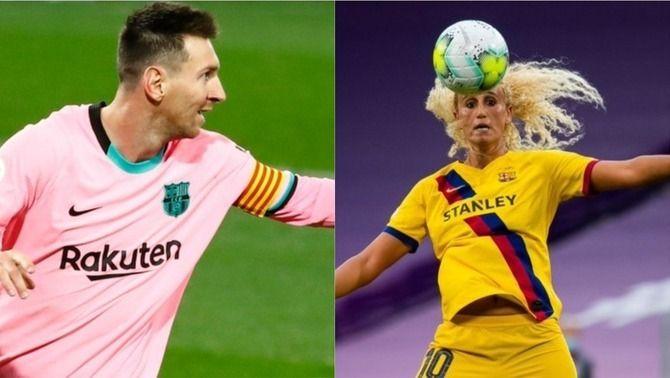 Leo Messi i Kheira Hamraoui, als equips ideals dels usuaris de uefa.com