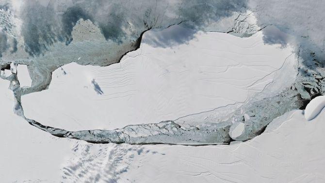 L'iceberg més gran de la història ha fet un viatge èpic de 4 anys de durada