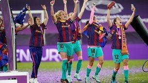 El Barça fa història i escombra el Chelsea (0-4) en la final de la Champions