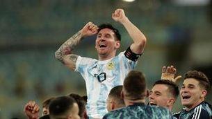 Emotiva dedicatòria de Messi a Maradona per la Copa Amèrica