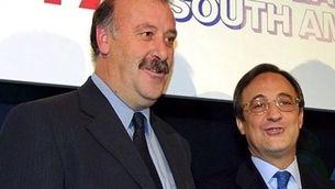 """Vicente del Bosque evita polemitzar amb Florentino pels àudios que el qualificaven de """"capsigrany"""""""