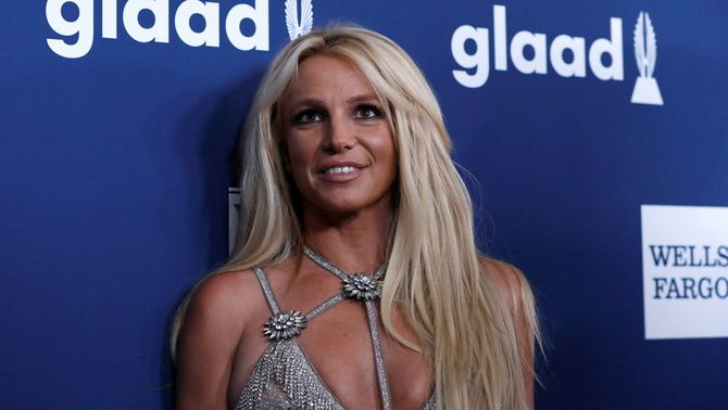 Britney Spears, en un acte l'any 2018 a Beverly Hills