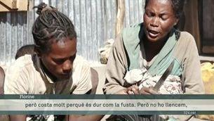 A Madagascar mengen el cuir de les sabates per la fam a causa de la crisi climàtica