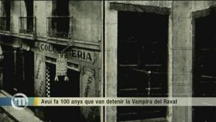 """""""La vampira del Raval"""", realitat i llegenda d'aquest personatge"""