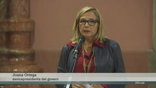 Declaren l'exvicepresidenta Ortega i la consellera Rigau