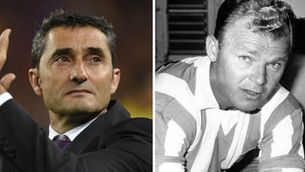 Ernesto Valverde i Ladislao Kubala