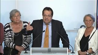 Imatge de:Reaccions després de la reunió del Pacte Nacional pel Referèndum