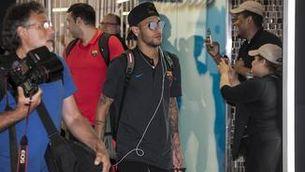 Neymar acapara l'atenció als EUA