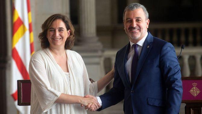 Acord de govern Colau-Collboni: el PSC torna per la porta gran amb la meitat d'àrees