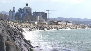 Clam d'alcaldes i experts per traslladar la línia R1 fora de la costa