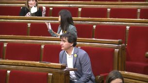 Crònica de la sessió al Parlament