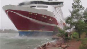Transbordador encallat al mar Bàltic