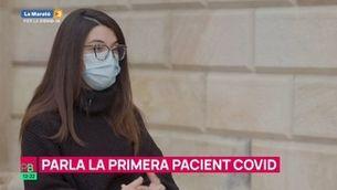 Parla la primera pacient Covid a Catalunya