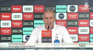 """Zidane: """"No puc abandonar ara, estem tocats però és una feina que m'agrada."""""""