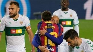 """Barça, 3 - Elx, 0. Els gols a """"LaTdT"""""""
