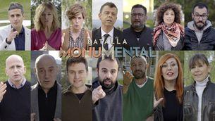 """Els rostres de TV3 avancen a qui votaran a """"Batalla monumental"""""""