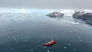 La formació de núvols pel desgel a l'Antàrtida ajudaria a frenar l'escalfament de la regió