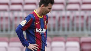 El Barça s'esborra de la Lliga (1-2)