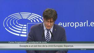 Puigdemont, Comín i Ponsatí recuperen provisionalment la immunitat parlamentària