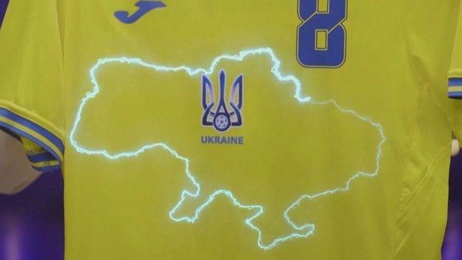 La UEFA obliga Ucraïna a modificar la seva samarreta a instàncies de Rússia